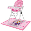 Creative Converting 324617 One Is Fun - Girl High Chair Kit, CASE of 6