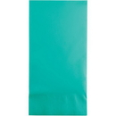 Creative Converting 324792 Teal Lagoon Guest Towels 3Ply, CASE of 192