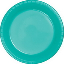 Creative Converting 324793 Teal Lagoon Prem Pl Luncheon Plates, CASE of 240