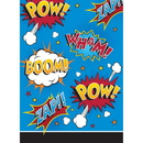 Creative Converting 324839 Superhero Slogans Loot Bag (Case Of 12)