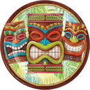 Creative Converting 327320 Tiki Time Dinner Plate, CASE of 96