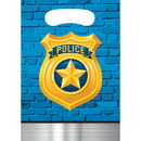 Creative Converting 329276 Police Party Loot Bag, CASE of 96
