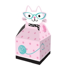 Creative Converting 329405 Purr-Fect Party Favor Box (Case Of 6)