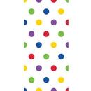 Creative Converting 329639 Décor Cello Bags, Multicolor Dots (Case Of 12)
