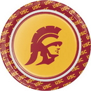 Creative Converting 330556 Univ Of Southern California Luncheon Plate, CASE of 96