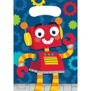 Creative Converting 332227 Party Robots Loot Bag, CASE of 96