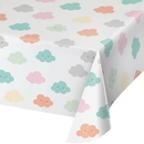 Creative Converting 332339 Sunshine Baby Shower Plastic Tablecover All Over Print, 54