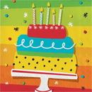 Creative Converting 332463 Hoppin' Birthday Cake Luncheon Napkin (Case Of 12)