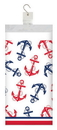 Creative Converting 335332 Nautical Anchor Plastic Tablecover, 54