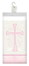 Creative Converting 335464 Divinity Pink Plastic Tablecover, 54