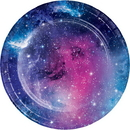 Creative Converting 336040 Galaxy Party Luncheon Plate (Case Of 12)