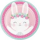 Creative Converting 336050 Birthday Bunny Dinner Plate, CASE of 96