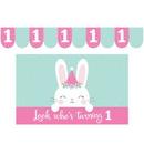 Creative Converting 336651 Birthday Bunny High Chair Kit, CASE of 6