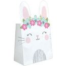 Creative Converting 336653 Birthday Bunny Paper Treat Bag, CASE of 96
