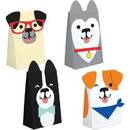 Creative Converting 336663 Dog Party Paper Treat Bags With Attachments, CASE of 96