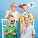 Creative Converting 336666 Dog Party Photo Booth Prop, CASE of 60