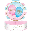 Creative Converting 336685 Gender Reveal Balloons Centerpiece Hc Shaped (Case Of 6)