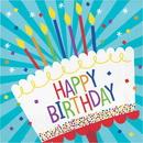 Creative Converting 338587 Cake Birthday Luncheon Napkin (Case Of 12)