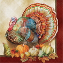 Creative Converting 338910 Traditions Of Thanksgiving Luncheon Napkin (Case Of 12)