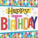 Creative Converting 339855 Bright Birthday Luncheon Napkin (Case Of 12)