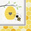 Creative Converting 339888 Bumblebee Baby Luncheon Napkin (Case Of 12)