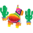 Creative Converting 340042 Fiesta Fun 3D Centerpiece Hc Shaped With Cacti (Case Of 6)