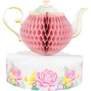 Creative Converting 340064 Floral Tea Party Centerpiece Hc Shaped (Case Of 6)