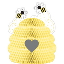 Creative Converting 340067 Bumblebee Baby Centerpiece Hc Shaped (Case Of 6)