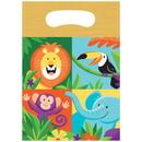 Creative Converting 340151 Jungle Safari Loot Bag (Case Of 12)