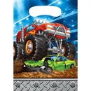 Creative Converting 340152 Monster Truck Rally Loot Bag (Case Of 12)