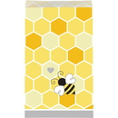 Creative Converting 340191 Bumblebee Baby Paper Treat Bag Md (Case Of 12)