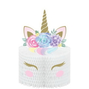 Creative Converting 344425 Unicorn Baby Centerpiece Hc Shaped W/ Attachments (Case Of 6)