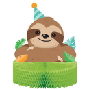 Creative Converting 344503 Sloth Party Centerpiece Hc Shaped (Case Of 6)