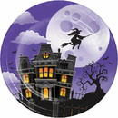 Creative Converting 345666 Luncheon Plate Haunted Mansion
