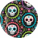 Creative Converting 345690 Luncheon Plate Day Of The Dead