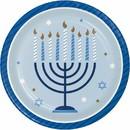 Creative Converting 345757 Luncheon Plate Hanukkah Celebration