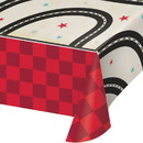 Creative Converting 345971 Vintage Race Car Paper Tablecloth