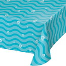 Creative Converting 345991 Narwhal Party Paper Tablecloth