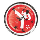 Creative Converting 346242 Luncheon Plate Karate Party