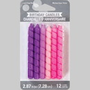 Creative Converting 347179 Lg Spiral Pinks & Purples