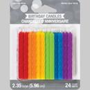 Creative Converting 347185 Spiral Rainbow