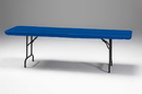 Creative Converting 37342 Royal Blue Plastic Tablecover Stay Put 30 X 96 Solid (Case of 12)
