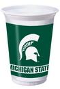 Creative Converting 374716 Michigan State 20 Oz. Printed Plastic Cups (Case of 96)