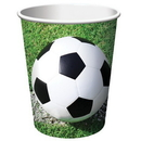 Creative Converting 377966 Sports Fanatic Soccer 9 oz. Hot/Cold Cups (Case of 96)