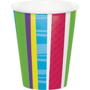 Creative Converting 379412 Bright And Bold Hot/Cold Cups 9Oz. (Case Of 12)