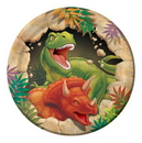 "Creative Converting 415012 Dino Blast 7"" Lunch Plates (Case of 96)"