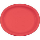 Creative Converting 433146 Coral Oval Platter 10