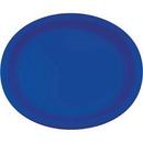 Creative Converting 433147 Cobalt Oval Platter 10