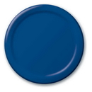 Creative Converting 471137B Navy Dinner Plate, Solid (Case of 240)