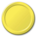 Creative Converting 50102B Mimosa Banquet Plate, Solid (Case of 240)